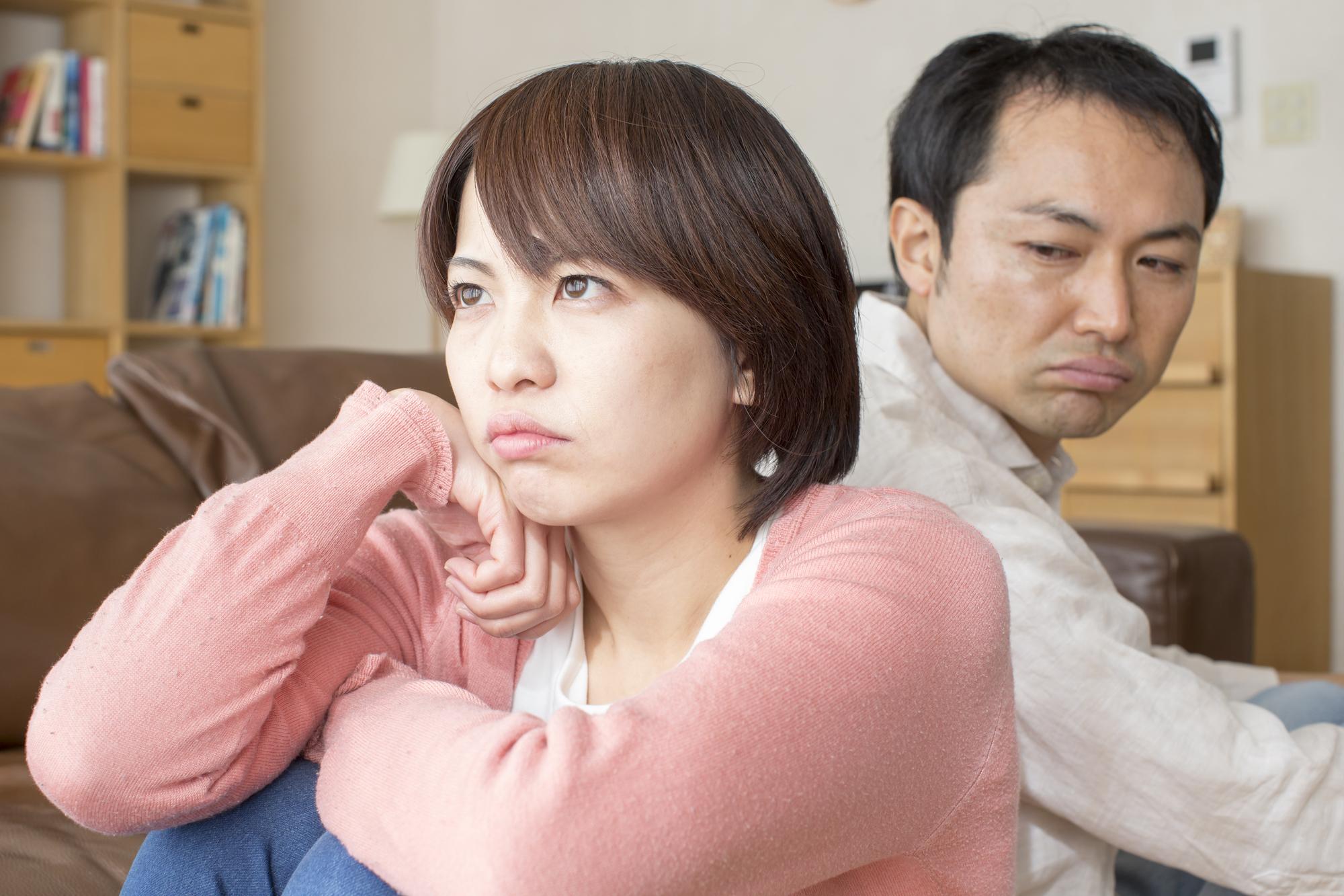家庭内別居から円満夫婦への復活術