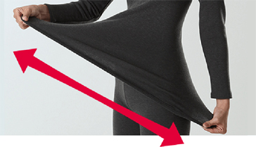 「HOTMAGIC(ホットマジック)」史上最高1枚で綿肌着7枚分の暖かさ