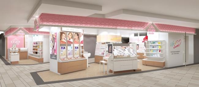 ETUDE HOUSE大阪・梅田『EST店』リニューアルオープン!